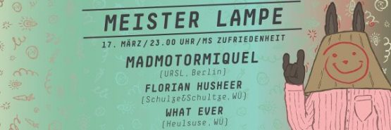 Fr 17.03. | MEISTER LAMPE